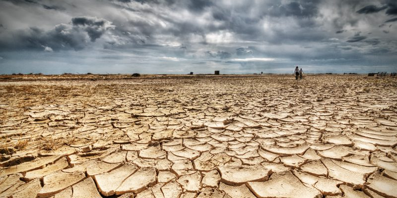 water shortage - dry land