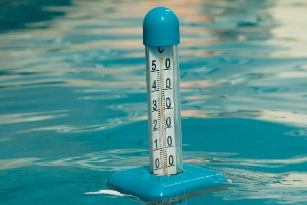 pool thermometer excessive heat weather