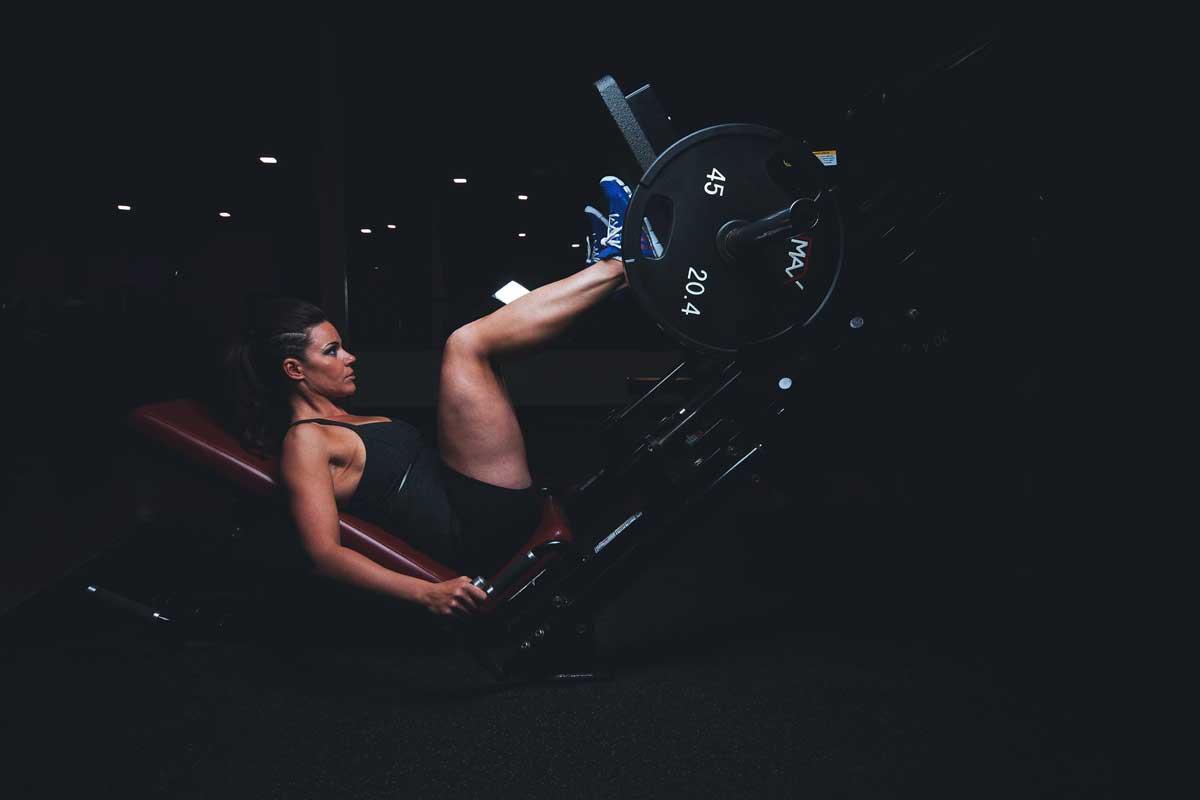 leg workout sweat dehydration