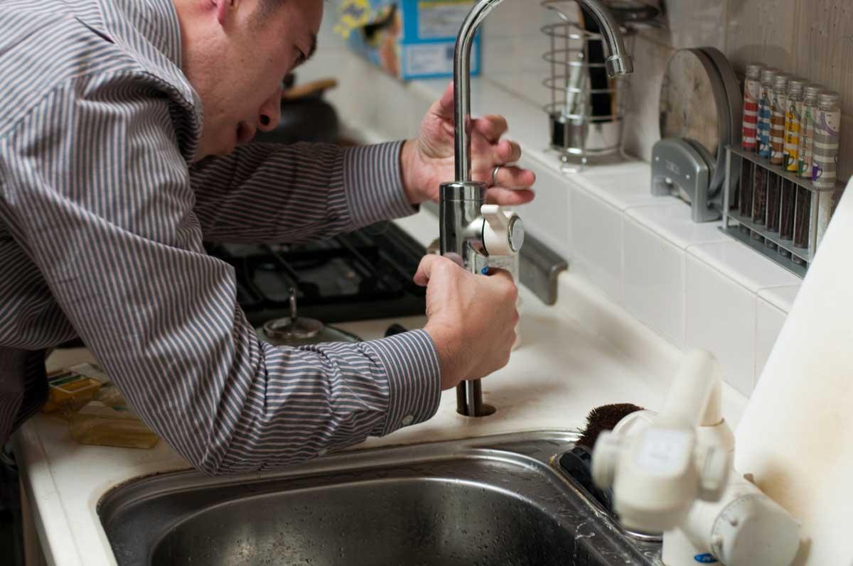 reverse osmosis installation white water