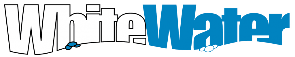 white water logo long